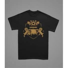 UZIPOV - oroszlánkirály férfi póló