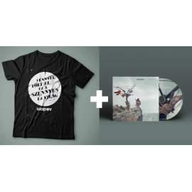 Idézetes férfi póló + Szennyes CD